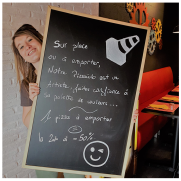 Pizzas et Burgers par La Bricole à Tours et Chambray